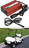 munirater 48V 15A Club Car Battery Charger with 3 - Pin Round Plug Replacement for Golf Carts 1995 - Up