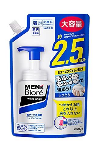 メンズビオレ 泡タイプ洗顔 スパウト 詰替え用 330ミリリットル (x 1)