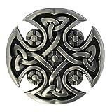 eeddoo® Gürtelschnalle - keltisches Kreuz (Buckle für Wechselgürtel für Damen und Herren | Belt...