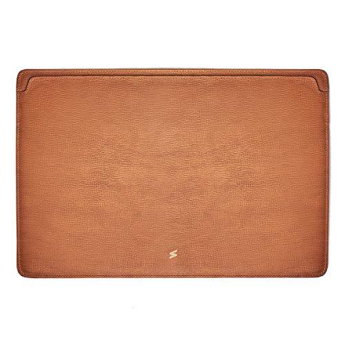 Suritt ® Funda para MacBook de Piel Protectora Corteccia (3 Colores Disponibles) (MacBook Pro 13´´, Brown)