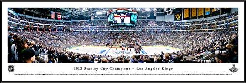 Los Angeles Kings NHL Framed 8x10 Photograph Team Logo and Hockey Puck