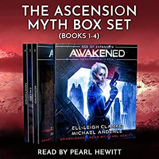 The Ascension Myth Boxed Set: Books 1-4 audiobook cover art