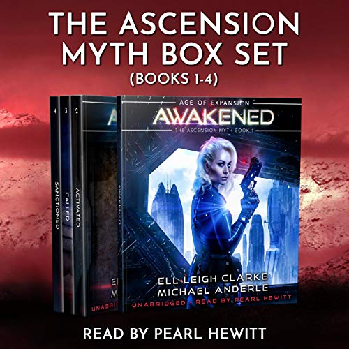 The Ascension Myth Boxed Set: Books 1-4     Awakened, Activated, Called, Sanctioned: The Ascension Myth Boxed Sets, Book 1              De :                                                                                                                                 Ell Leigh Clarke,                                                                                        Michael Anderle                               Lu par :                                                                                                                                 Pearl Hewitt                      Durée : 32 h et 24 min     Pas de notations     Global 0,0