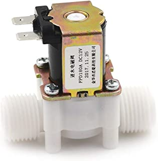 Solenoid Air - 1pcs 12v Electric Solenoid Magnetic Dc N C Water Air Inlet Flow Switch 1