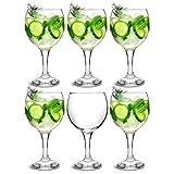 bar@drinkstuff set da 6 ,city bicchieri da gin e cocktail 22,7 645 oz/ml in confezione copa de ballon & gin tonic-bicchieri da cocktail