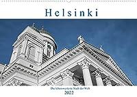Helsinki - Die lebenswerteste Stadt der Welt (Wandkalender 2022 DIN A2 quer): Helsinki, eine Stadt im Handtaschenformat und gut zu Fuss mit Kamera zu entdecken. (Monatskalender, 14 Seiten )
