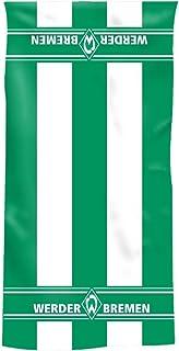 Bertels Werder Bremen Duschtuch Blockstreifen