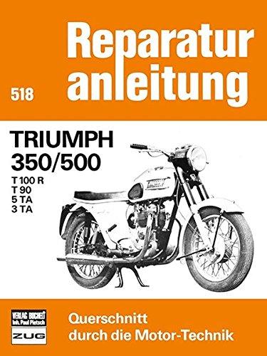 Reparaturanleitung Triumph 350 / 500 (T 100 R, T 90, 5 TA, 3 TA) (2- Zylinder).