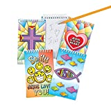 Religious Spiral Notepads - Sunday School & Stationery