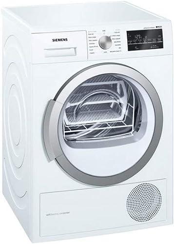Siemens iQ500 WT47W491FF sèche-linge Autonome Charge avant Blanc 9 kg A++ - Sèche-linge (Autonome, Charge avant, Pomp...