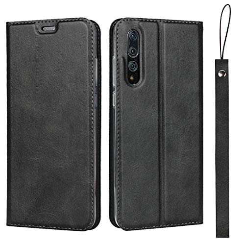 Affordable Huawei P20 Pro Case, The Grafu Premium Flip Folio Case with Card Slot and Wrist Strap for...