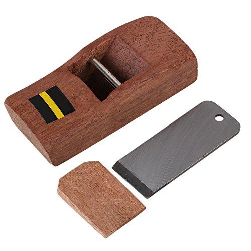 Yibuy 10cm Braun Mini Holz Handhobel Carpenter Hobelmesser Holz Arbeiten Werkzeug