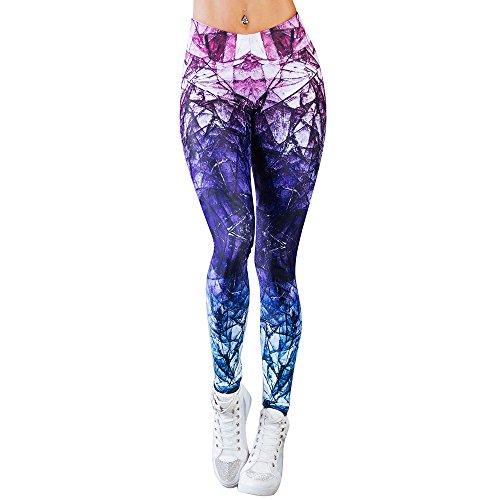 MORCHAN ❤ Femmes Sport Gym Yoga Entraînement Mi Taille Pantalon de Course Fitness Élastiques Leggings