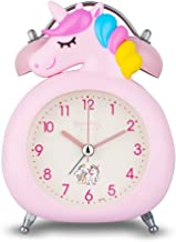 KOROTUS COLLECTION Unicorn Alarm Clock for Girls, for Kids and Teen Loud Bell and Button..