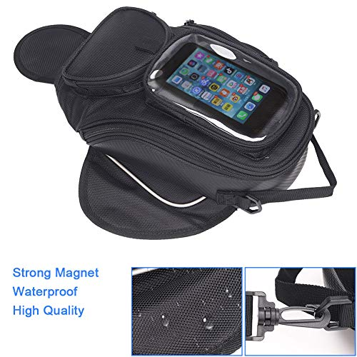 Great Price! TUXI Motorcycle Tank Bag, Waterproof Tank Bag with Strong Magnetic Motorbike Bag Motorc...