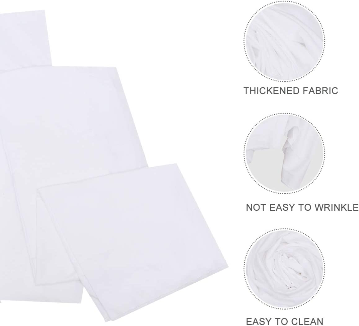 IMIKEYA Gray Photo Background Cloth Muslin Photography Backdrop Cloth Live Shooting Props Cloth for Video Television Photobooth Photoshoot Headshot