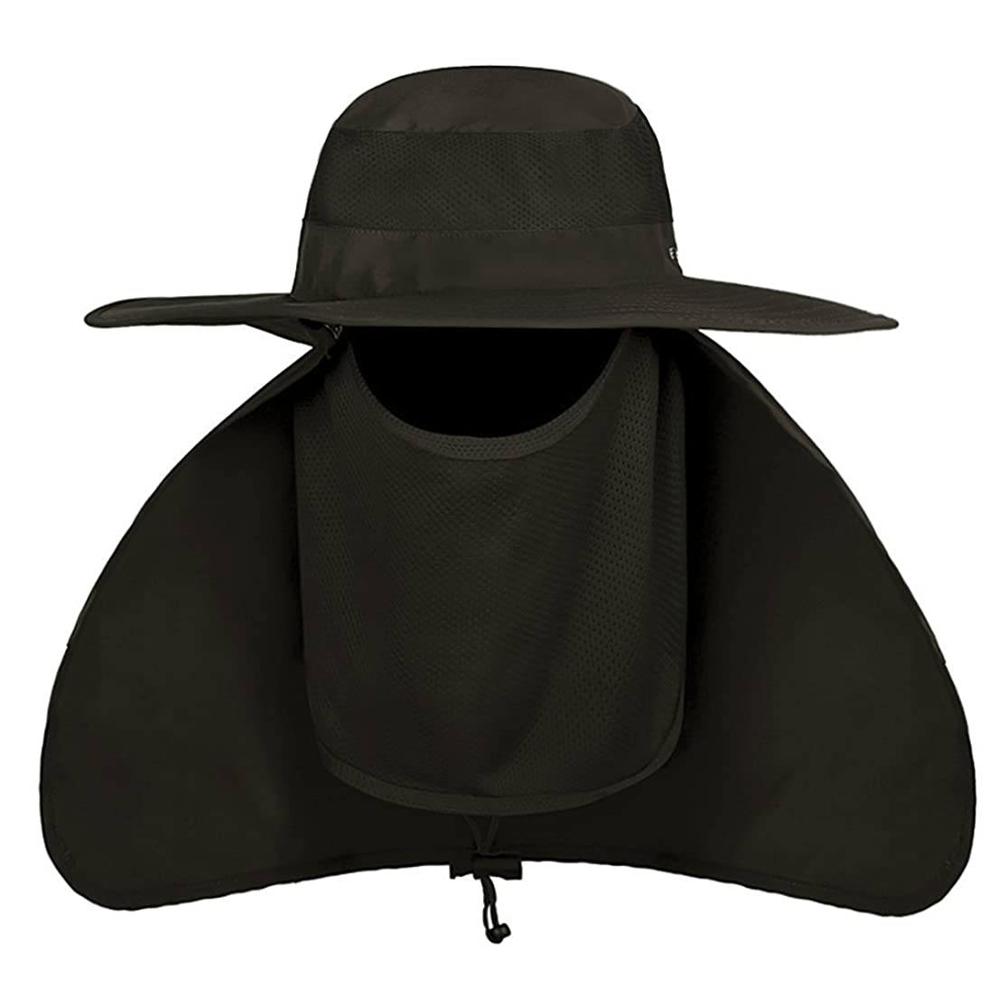 帽子 ぼうし フェイスカバー 虫除け 蚊対策 UVカット 日焼け ハット 360度保護 紫外線 農作業用 ガーデニング 釣り 登山 日よけ帽子 キャップ メンズ レディース 熱中症対策 サンバイザー 自転車 フィッシングハット 防虫 防塵