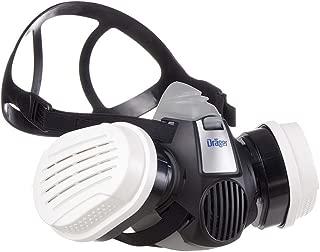 Dräger X-Plore 3300   Kit de Semi máscara + filtros ABEK1 HG P3 RD   Respirador de Seguridad para Trabajos químicos Frente a vapores, conservantes, pesticidas