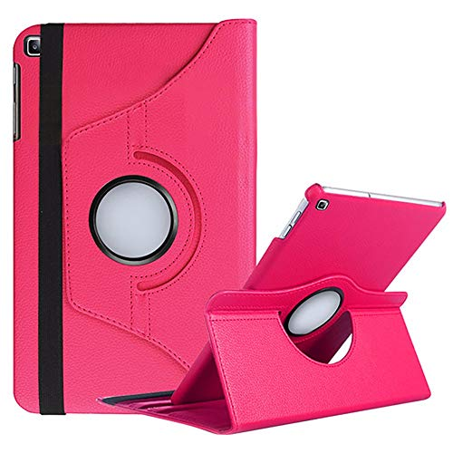 "Capa Giratória Samsung Galaxy Tab A 10.1"" T510 T515 (Rosa)"