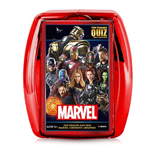 Winning Moves 63742 Quiz - Marvel Cinematic Universe Zubehör