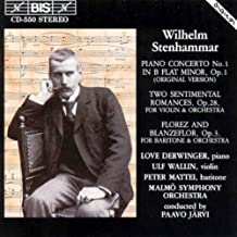 Stenhammar: Piano Concerto No. 1 / Two Sentimental Romances