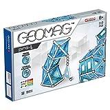 Geomag Pro-L Costruzioni Barrette Magnetiche, Argento/Blu, 110 Pezzi