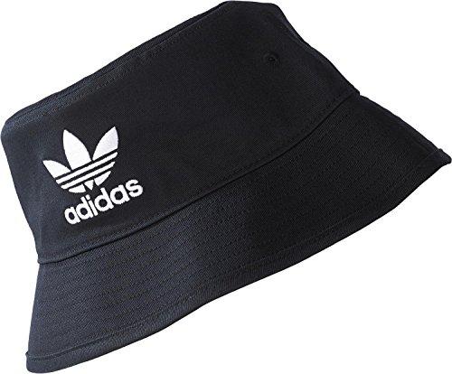 adidas Unisex-Adult Bucket HAT AC Hat, Black/White, OSFM