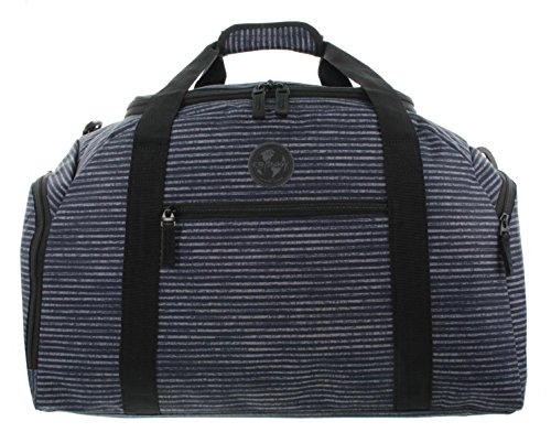 Franky Reisetasche Sporttasche Reisegepäck Dufflebag RT34 M Blue Stripe