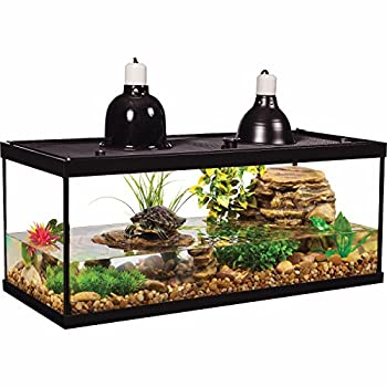 Tetra Aquatic Turtle Deluxe Kit 20 Gallons aquarium With Filter And Heating Lamps 30 IN  NV33230