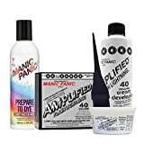 Manic Panic Flash Lightning Hair Bleach Kit - 40 Volume Cream Developer Bundle with Prepare to Dye Clarifying Shampoo