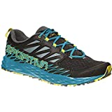 La Sportiva Lycan, Zapatillas de Trail Running para Hombre, Multicolor (Black/Tropical Blue 000), 44 EU