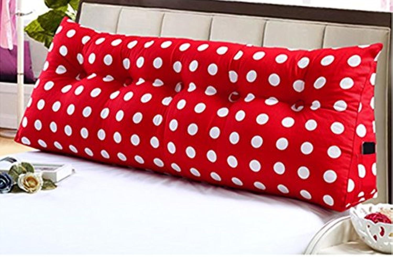 Dossier De Chevet coussins de chevet oreiller triangulaire à double coussins de siège de bureau dossier oreiller canapé grand dossier (taille   120  20  50cm)