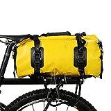 IUANUG 3in1 Fahrradtasche - wasserdicht & reflektierend - als Gepäckträgertasche Umhängetasche &...