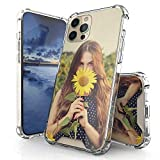 """DuroCase Custom Case Compatible with iPhone 12 Pro Max Case 6.7"""" (2020), Create Your Own Photo Case, Dual Materials Clear TPU with Polycarbonate Protection Case & Support Wireless Charging."""