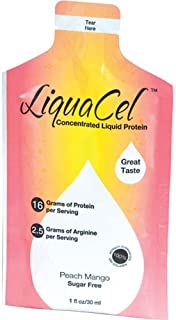 LiquaCel Liquid Protein 1oz Packets (100) Peach Mango
