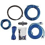 Raptor R2AK8 Bulk Series R2 Amp Installation Kit (8 Gauge), blue