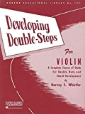 Developing Double-Stops for Violin: A Complete Course of Study for Double Note and Chord Development (Rubank Educational Library): 133
