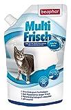 Beaphar Brisa Fresca y mullida, neutralizador de olores para Gatos | Prolonga la Durabilidad de la Arena para Gatos | Aroma a Brisa Fresca | 400 g