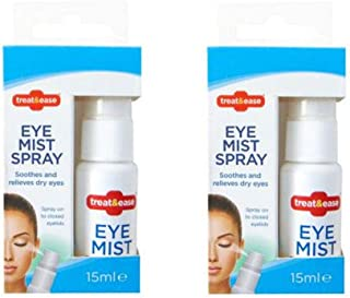 2 x Eye Mist Eyelid Spray for Refreshing Soothing Relief Dry