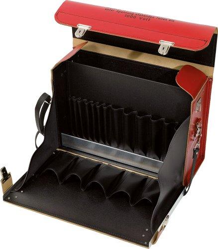 KS Tools 117.1830-99 Werkzeugkoffer, leer, Leder