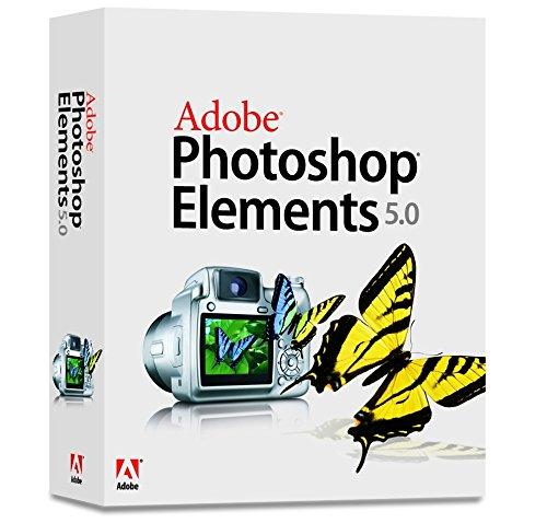 Adobe Photoshop Elements - (version 5.0 ) - ensemble complet - 1 utilisateur - CD - Win - français