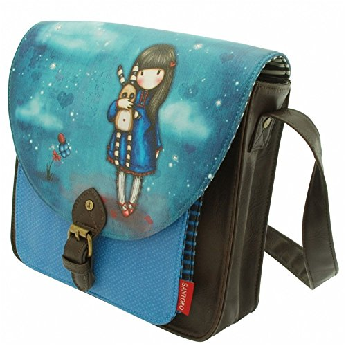Maia Gifts Santoro Gorjuss Hush Little Bunny Saddle Satchel Bag