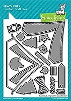 Lawn Fawn Build-a-Campsite ダイセット (LF2610)