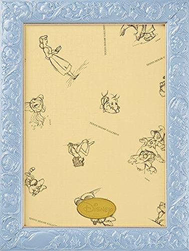 パズルフレーム ディズニー専用 アートフィギュアパネル 108ピース用 パールブルー(18.2x25.7cm)