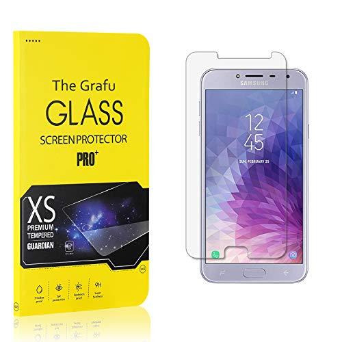 The Grafu Displayschutzfolie für Galaxy J4 2018, 9H Härtegrad Schutzfilm aus Gehärtetem Glas für Samsung Galaxy J4 2018, HD Panzerglasfolie, 99% Transparente, 1 Stück