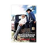 Filmposter Brokeback Mountain 01 Leinwand Poster