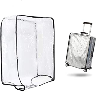 SevenAndEight Luggage Cover Suitcase Cover Transparent Protectors Case (30 in)