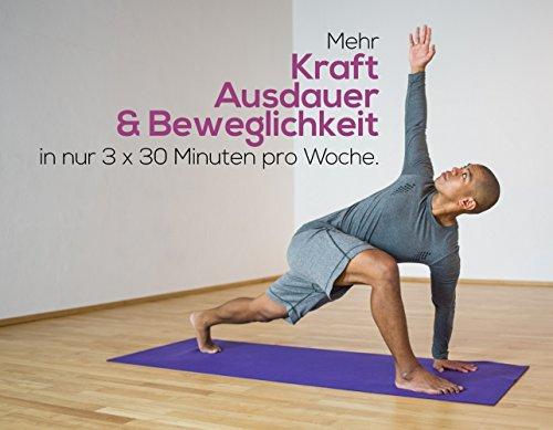 YOGALETICS: Premium Edition – Das 9-Wochen-Workout speziell für Anfänger (4 DVDs + 3 Booklets + 1 Poster + Online-Stream). Mehr Kraft, Ausdauer und Beweglichkeit durch einen Mix aus Fitness und Yoga. Bodyweight-Training ohne Geräte für Männer und Frauen - 3