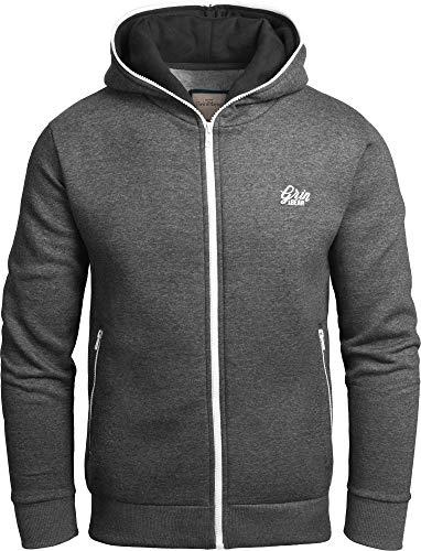Grin&Bear Warmer allway Hoodie Kapuzenpullover Sweatshirt anthrazit L GEC403