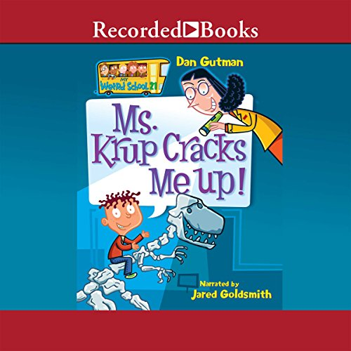 Ms. Krup Cracks Me Up! audiobook cover art